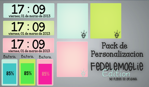 Pack de Skins para XWidget - FedeLeMoglieEdition by FedeLeMoglieEdition