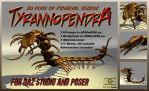 Tyrannopendra for DAZ-Studio and Poser by ancestorsrelic