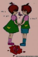 Rugrats Theory : Phil and Lil by AkI-cHanx3