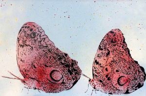 Butterflies - Red and Black - Small by writerbryce1980