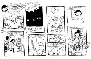 Hey Arnold - closet game comic by unluckystunt