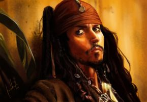 Captain Jack Sparrow by Facuam
