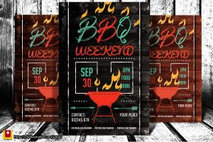 Barbecue / BBQ Party Flyer V1 by satgur