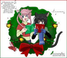 A Caroling We Go by ToonTwins