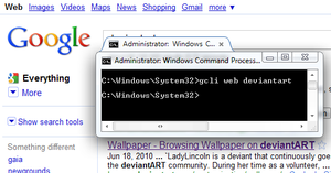 Google CLI by SuprVillain