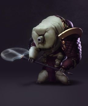 Evolved water bear warrior by GirmaMoges
