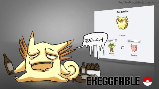ExeggFable by RedDyeNo5