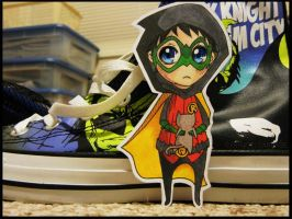 Damian and the Kitty by carouselcarnage