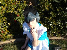 Black Butler: Finger Nom Nom by KaylaErinOfficial