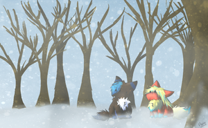 CE- Winter by flaries