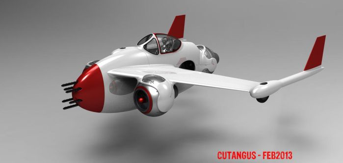 Three Gimballed Ball Jets by CUTANGUS