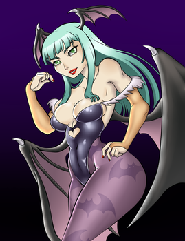 Morrigan by TheMightyMags