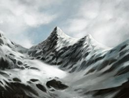 Snow Mountain by iZonbi