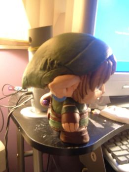 THE MIGHTY MUNNY LINK side by BlueDragon117