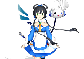 MMD Luo Tianyi by Il0veNaughtyfins