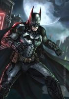 Batman: Arkham Knight by denn18art