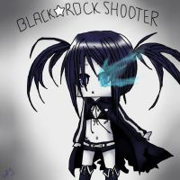 .:Black Rock Shooter:. by hazyfunlovelala
