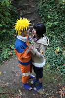 Naruto- NaruHina Kiss the Girl by VandorWolf