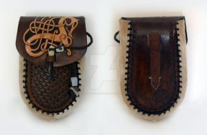Yet another Viking pouch by Vildkorpens-Laderlya