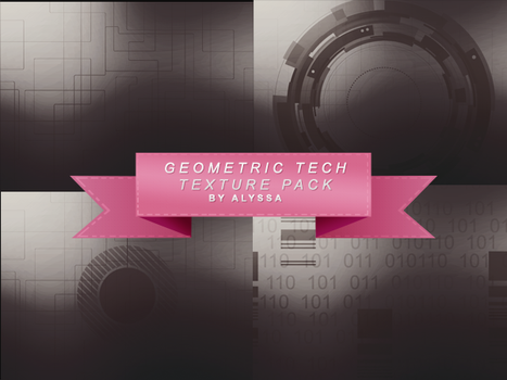 geometric tech texture pack by alyssamichelle719