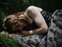 Sleeping beauty by LilithvonHohenheim