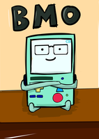 BMO want to join too. BMO Sprite Glasses by netnavi20x5
