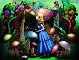 Contest: Alice in Wonderland by LittleKai