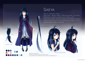 Saeya Reference by dakaringer