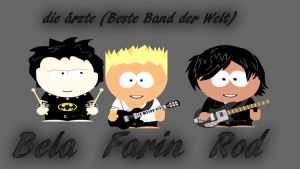 die aerzte - South Park Style by Banashee