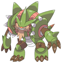 Mega Chestnaught by Phatmon66