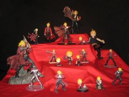 Edward Elric figures 8D by Aabenhuus