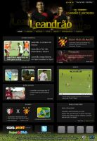 Site de Leandrao - Guga Lins by Gugasw