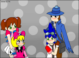 YumixxPink and KeixxBlue by AE-couples-club