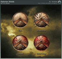 Laconian Shields by Oulixeus