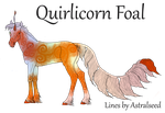 1206 Quirlicorn Foal Design by TheMs0kitty