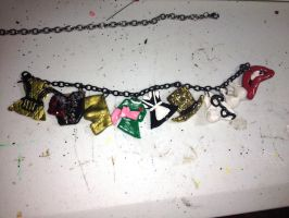 Rocky Horror Picture Charm Bracelet by missfit1023