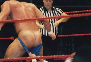 Chris Masters Bare Ass by englishxmuffin