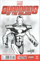 Iron Man Sketch for Tristan by wardogs101