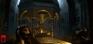 the tomb of King Midas by antoniodeluca