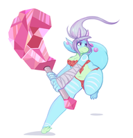 Battle Opal by Lobstersnail