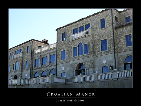 Croatian Manor by HolyBatman