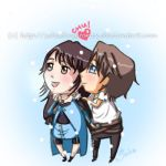 Squall and Rinoa 1st Snow Drop v1 by xDestinyStarzx