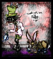 Mad Hatter and March Hare by ever-elusive-kudos