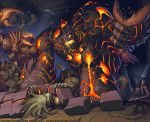 Chaotic: Magmon Colours by JayAxer