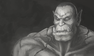 Orc by Zer0Frost