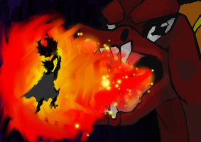 Through the Fire and Flames by reaver570