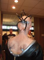 Back of my Borg Queen head! by piratepigeon
