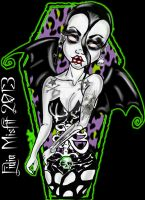 Hate the Living Love the Dead by MissMisfit13