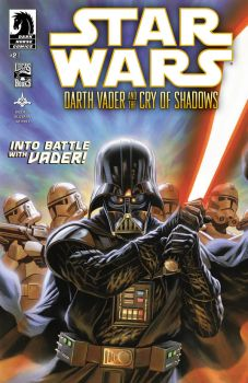 Darth Vader and the Cry of Shadows #2 by felipemassafera