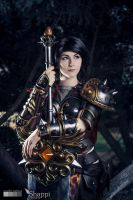 Smite : Bellona by Shappi